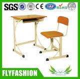 Mobiliário escolar primária única mesa e cadeira (SF-67S)