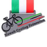 カスタマイズされた賞のバイクの乗車のスポーツの主題メダル(BH-07)