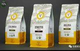 De Zak van de Verpakking van de koffie met Opening