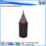 A isolé inférieure de Smoke/PVC/câble de commande engainé par Sta/PVC