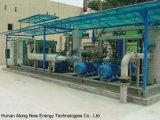 Aufschüttung-Gas-Behandlung-System