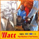 Découpage fendu et machine taillante L8 de pipe de bâti utilisés au compagnie de la Thaïlande