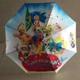 Abitudine propri ombrello pieno di sublimazione 23inch di disegno