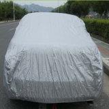 車カバーファブリックのための100%年のポリエステル銀製の上塗を施してあるタフタファブリック
