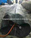 Moulage en caoutchouc gonflable de faisceau pour faire la construction de ponceau