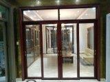 Il portello d'attaccatura di alluminio di Parten con il vetro di arte