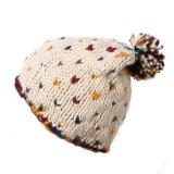 Form gestrickte Beanie-Hut-strickende Schutzkappe mit Rand und Krone