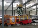 Тележка оборудования борьбы с пожарами свертывает вверх двери (специальные части кораблей)