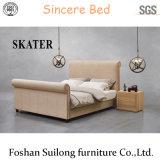 Base moderna Sk25 della camera da letto di disegno di stile della base americana superiore del tessuto