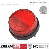 機密保護の赤い点滅のストロボライト