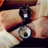 Сплава смотреть натуральная кожа смотреть Cute запястья Мода часы для женщин
