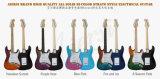 Guitarra eléctrica del St de la mejor fábrica de la guitarra eléctrica con el bolso de la guitarra