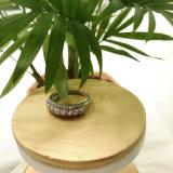 Modischer Zircon-Stein-klassischer Ring für Frauen mit Messing