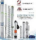Centrífugas de Aço Inoxidável multiestágio 4 polegadas da bomba de água