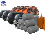 Defensa llenada espuma flotante marina de la boya de amarradura del poliuretano del muelle de 3.0*6.0 M
