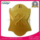 Personalizado de alta calidad de placa de policía de metal