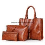 Três sacos de Tote da compra/Crossbody/sacos grandes ajustados carteira da mão do saco de Tote tradicional das senhoras