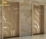 Декоративное украшение двери лифта нержавеющей стали вытравливания