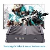 Промышленный компьютер X86 вентилятора ПК с 2 процессорами Intel Celeron 1007U SATA жесткий диск емкостью 2 Тбайт платформы системной платы