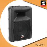 15 Zoll PROpa-Systems-Plastik-DJ-im Freien passiver Lautsprecher PS-0615