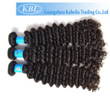 La meilleure qualité lâche Curly vierge cheveu humain produit brésilien