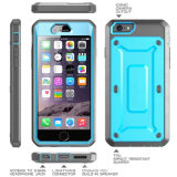 Téléphone cellulaire de vente chaude Étui pour iPhone6 2 dans 1 cas d'armure Hybird