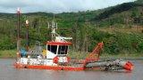 カッターの吸引の砂の浚渫船または浚渫機または浚渫の機械/船のボートまたは容器