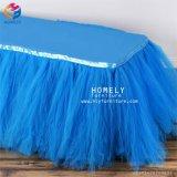 Оптовая торговля заводская цена красивый прямоугольник юбка таблица ткань для продажи