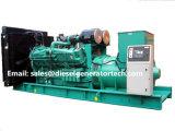 homologation silencieuse du groupe électrogène de générateur diesel de 1320kw 1650kVA Cummins Ce/ISO