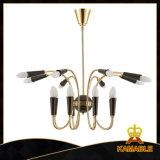 Moderne gute Qualitätsgoldene Dekoration-hängende Lampe (GD18164P-L8+8)
