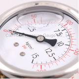Mètre de pression d'acier inoxydable de Purfier de l'eau de vente directe d'usine