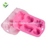 Empreinte écologique de 6 moule à cake en silicone/savon artisanal moule