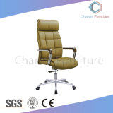 좋은 품질 금속 기초 (CAS-EC1810)를 가진 베이지색 가죽 사무용 가구 두목 의자