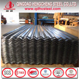 JIS G3312 zinco metálico Gi folha de metal corrugado