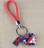Colourful Logo Debossedの金属Keychain