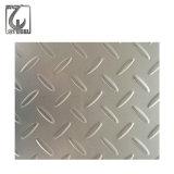 201/304/316 type feuille Checkered de lentilles d'acier inoxydable