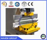 Máquina de perfuração da marca refúgio máquina de cisalhamento máquina de dobragem