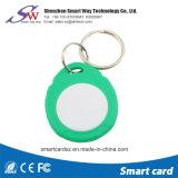 Fabrik-Preis-Kreisform Ntag213 NFC RFID ABS Keychain
