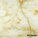 600 * 600 Lleno pulido porcelana esmaltada de la baldosa de mármol del azulejo (WG-60QP01)