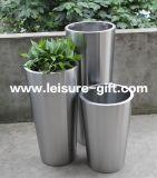 FO-9001 de lange Verminderde Planter van de Pot van de Tuin met Roestvrij staal