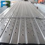 Plancia d'acciaio della piattaforma del metallo galvanizzata 250*50 per l'armatura