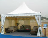 4X4 Cabine van de Verkoper van de Decoratie van het Gordijn van de Tent van de Pagode van het aluminium de Vuurvaste