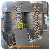 Полиэтилен HDPE площадок для крана Outrigger электроды для тяжелого оборудования используйте
