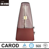 Metronome de cinq couleurs en métal de base