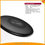 Bewegliches Qi-drahtloses Mobiltelefon-Ladegerät für iPhone Samsung