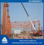 Construção de aço Prefab do padrão de ISO com feixe galvanizado de H