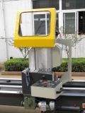 Anuncio de doble cabeza de la máquina de sierra de corte de perfiles de aluminio