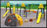 Игровая площадка на открытом воздухе физических упражнений комбинации Enterntament для детей в режиме6