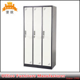 Le métal changeant de bureau en acier du compartiment 3-Door vêtx le casier d'entreposage en Module