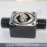 Micro ovale du capteur de débit d'engrenage